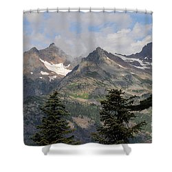 the View Shower Curtain by Rod Wiens