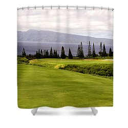 The View Shower Curtain by Scott Pellegrin