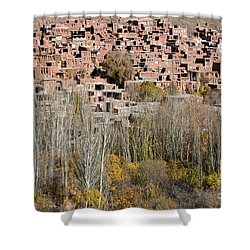 The Village Of Abyaneh In Iran Shower Curtain by Robert Preston