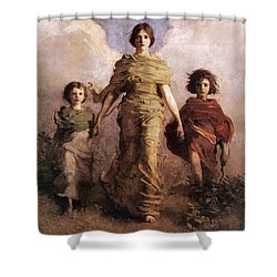 The Virgin Shower Curtain