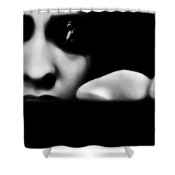 The Vision Shower Curtain by Jessica Shelton