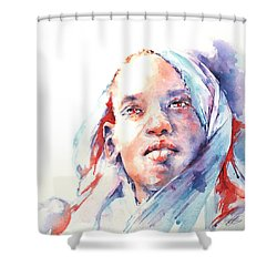 The Visionary Shower Curtain by Stephie Butler