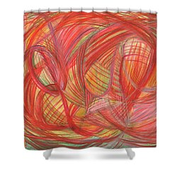 The Voice Of Daring Shower Curtain by Kelly K H B