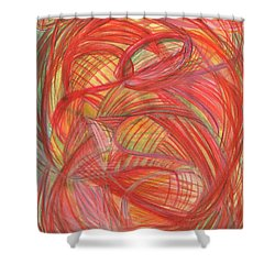 The Voice Of Daring-vertical Shower Curtain