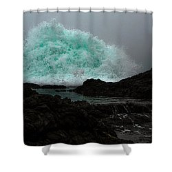 The Wall Series Frame 3 Full Res Shower Curtain