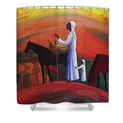 The Wandering Mary Magdalene Shower Curtain