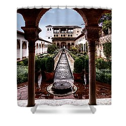 The Water Gardens Shower Curtain