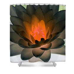 Shower Curtain featuring the photograph The Water Lilies Collection - Photopower 1036 by Pamela Critchlow