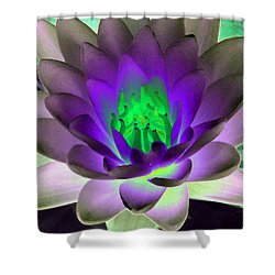 Shower Curtain featuring the photograph The Water Lilies Collection - Photopower 1115 by Pamela Critchlow