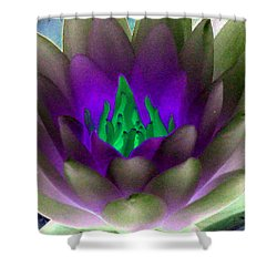 Shower Curtain featuring the photograph The Water Lilies Collection - Photopower 1117 by Pamela Critchlow
