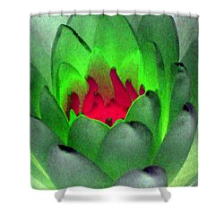 Shower Curtain featuring the photograph The Water Lilies Collection - Photopower 1122 by Pamela Critchlow