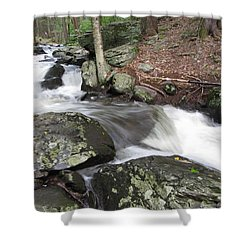 Shower Curtain featuring the photograph The Watering Place by Richard Reeve