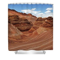 The Wave Center Of The Universe Shower Curtain