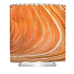 The Wave II Shower Curtain by Chad Dutson