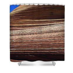 'the Wave' North Coyote Buttes 06 Shower Curtain by Jeff Brunton