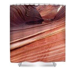 'the Wave' North Coyote Buttes 62 Shower Curtain by Jeff Brunton
