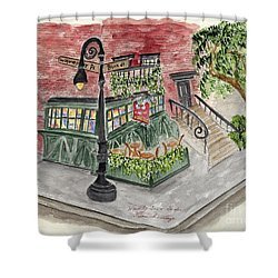 The Waverly Inn And Garden Shower Curtain