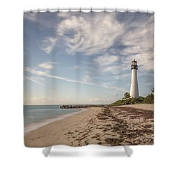 The Way Back Home Shower Curtain