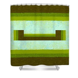 The Way Is Open Shower Curtain by Michelle Calkins