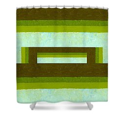 The Way Is Shut Shower Curtain by Michelle Calkins