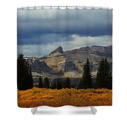 Shower Curtain featuring the photograph The Wedge by Raymond Salani III