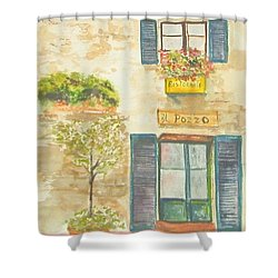 The Well Shower Curtain