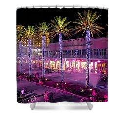 The Wharf @ Orange Beach Alabama Shower Curtain