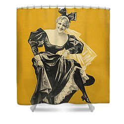 The Widow Shower Curtain by Aged Pixel