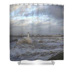 The Wild Mersey 2 Shower Curtain