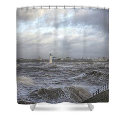 The Wild Mersey Shower Curtain