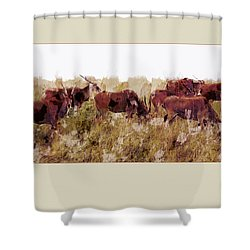 The Wilds Shower Curtain by Ron Jones