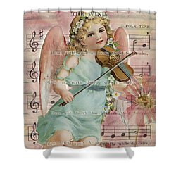 Shower Curtain featuring the photograph The Wind  by Sandra Foster