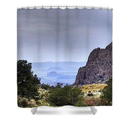 The Window View Shower Curtain by Dave Files