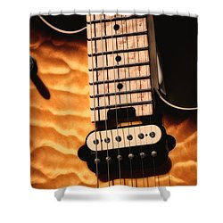 The Wolfgang  Shower Curtain by Karol Livote