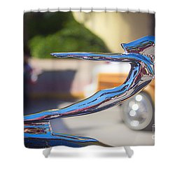The Woman In Every Man's Dream Shower Curtain by Rene Triay Photography