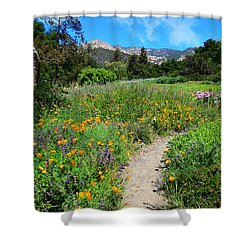 The Wonders Of Spring Shower Curtain