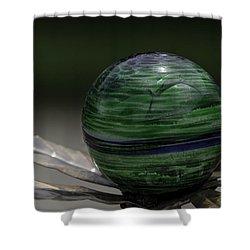The World In Your Yard Shower Curtain by LeeAnn McLaneGoetz McLaneGoetzStudioLLCcom