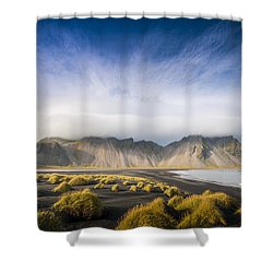 The Young Man Agreed Shower Curtain
