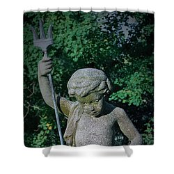 Shower Curtain featuring the photograph The Young Mariner by John Glass