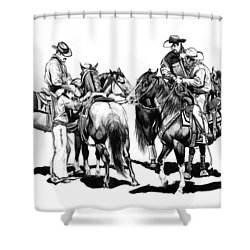 The Youngster Shower Curtain