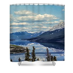 The Yukon Shower Curtain by Suzanne Luft