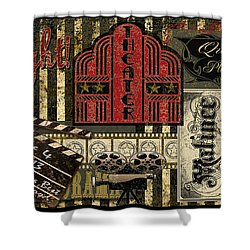 Theater Shower Curtain by Jean Plout