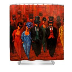 Theatre Night  Shower Curtain