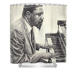 Thelonious Monk II Shower Curtain