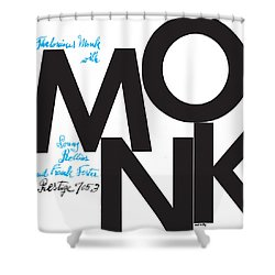 Thelonious Monk -  Monk (prestige 7053) Shower Curtain