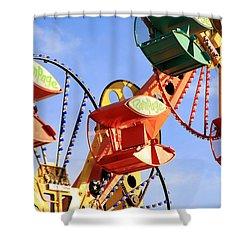Theme Park Ride Shower Curtain by Valentino Visentini