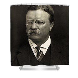 Theodore Roosevelt Shower Curtain by Unknown