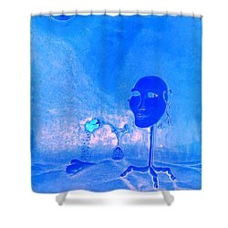 There Could Be No Understanding Without Love Shower Curtain