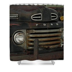There Is Nothing Like An Old Ford Shower Curtain