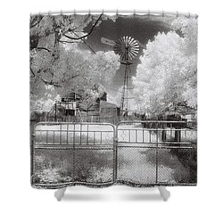 There's No Place Like Home Shower Curtain by Linda Lees